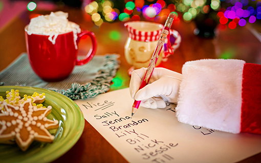 Make sure your web pages end up on the Nice List