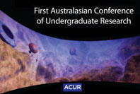Australasian conference of undergraduate research ACUR graphic