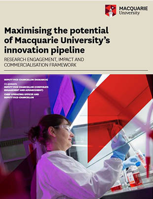 Macquarie University's innovation pipeline
